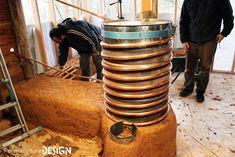 Le rocket-stove : un poele de masse génial et pas cher...