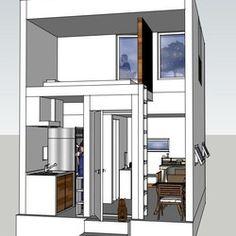 極小6坪カスタマイズ可能キャビン 天井高さ 4m優雅な空間 キャビン