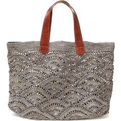Mar y Sol,10 CROCHET BAGS TO DIE FOR | http://www.wearitcrochet.com/crochet-bags-to-die-for/