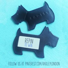 """Win a """"money can't buy"""" Radley Scottie Dog mirror by repinning this pin to one of your boards. On Thursday 3rd July 12.00pm GMT we'll pick a winner at random and send you a message by commenting on your pin. In the meantime see our latest collection at www.radley.co.uk"""