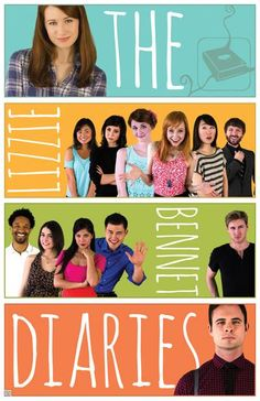 the official Lizze Bennet Diaries poster, soon to be on the DFTBA's online store! <3 MUST BUY ONE!