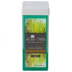Wachspatrone Alge Lotus-Wax - WACHSE waxing.ch Lotus, Seaweed, Hair Removal, Wax, Lotus Flower, Lily