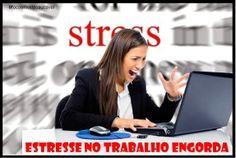 Estresse no trabalho engorda, saiba como evitar!!!
