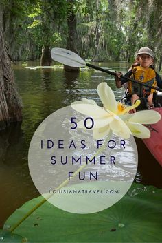 Get this guide for 50 amazing #onlylouisiana experiences to check off your list this summer. Family-friendly and packed full of fun #tripplanning #louisiana