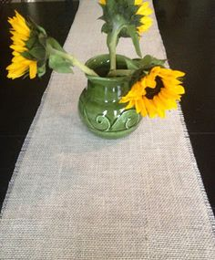 http://lifeinmyemptynest.blogspot.com/2012/11/no-sew-burlap-table-runner.html