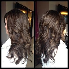 Milk Chocolate Caramel look @Megan Long this colour would be pretty for your wedding if you wanted a change