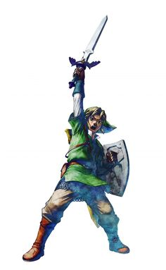 Link, Skyward Sword official artwork