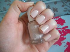 Essie's Topless and Barefoot - the best non sheer nude polish I have found.