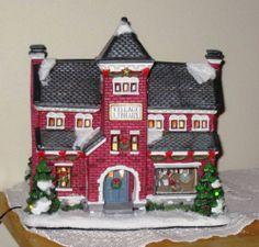St. Nicholas Square VILLAGE PUBLIC LIBRARY Christmas NEW IN BOX