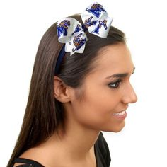Memphis Tigers Womens Wrapped Headband with Bow