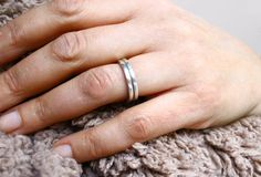 Sterling Silver Stacking Rings - product image