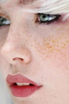 For innocence & youth. I can speckle freckles.isabel.