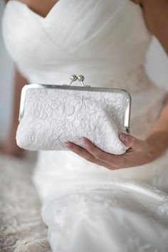 A couture clutch for a couture #bride! Ivory lace makes this a stunning accessory for your #wedding @etsy @hitchedbridal Wedding, Hong Kong, Boutique, Bridal, Love, Romantic, Summer, Brides, Gown, Hairstyle, Party, Honeymoon