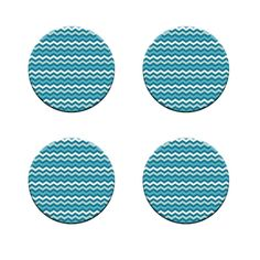 A Pack of 4 blue zig zag seamless Pattern Weights inspired by TV Sewing Bee #ricemetalscreationscouk