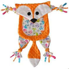 Minkles are animal shaped blankies made out of minky fabric with taggies and…