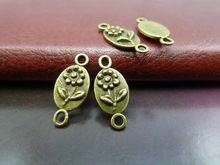 100 шт. античная бронзовая разъемов DIY ювелирных изделий(China (Mainland))
