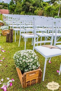 Decoração para casamento no campo ao ar livre. Local: Bom Conselho Eventos Decoração: Neo Decor Foto: JK Foto Art