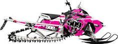 pink snowmobile - Google Search