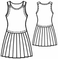 Modern Sewing Patterns (free!) - #5136 Sleeveless dress -- if you drop the waist on this and shorten the pleated part a bit it's a total Thouroughly Modern Millie dress! :)