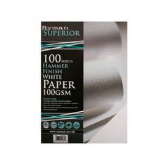 Ryman Hammer Finish Paper A4 100gsm 100 Sheets - Premium - Paper - Paper & Printing