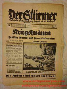 Julius Streicher, Funny Advertising, Ww2, Germany, Deutsch, Funny Ads