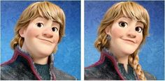 Kristoff's lively self will still set hearts aflutter.