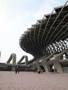 Main stadium for the World Games 2009 in Taiwan. Toyo Ito:
