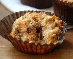 Gluten-Free (Paleo) Carrot Muffins