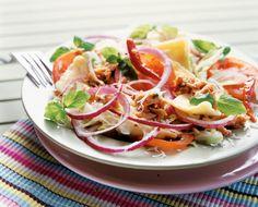 Chilinen pasta-tonnikalasalaatti | K-ruoka