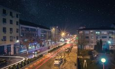 """Cityunderthestarrysky"" by masterhks! Find more inspiring images at ViewBug - the world's most rewarding photo community. http://www.viewbug.com/photo/60944857"