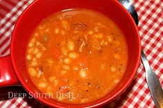 Deep South Dish: Bean with Bacon Soup
