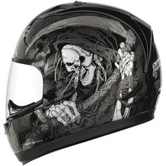 ICON - Alliance Harbinger Full-Face Motorcycle Helmet - Full-Face - Motorcycle Helmets - Biker - CycleGear - Cycle Gear