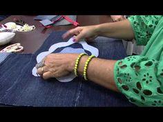Mulher.com 26/02/2015 Bolsa reutilização de jeans por Mara Gimenes Parte 1 - YouTube