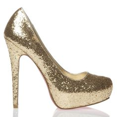 sparkly shoes...yes.