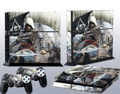 2014 New Arrived Custom Sticker Set for PS4 Console Controller Protector Skins #UnbrandedGeneric