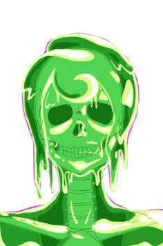Slime Monster Girl | Monster Girl Challenge - Slime Girl by Cho-taicho