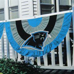 Carolina Panthers Team Logo Bunting