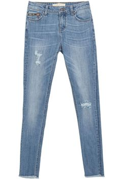 Great denim comes in all shapes and prices, but we're partial to Zara's on-trend cuts and washes. Zara jeans, $50, zara.com.