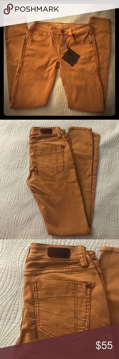 Rose Royce Skinny Jeans NWT Rose Royce Rubberband Stretch skinny jeans, khaki. Super soft premium cotton with detailed stitching. Size 28 Pants Skinny