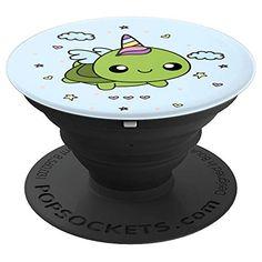 Turtle Unicorn Uniturtle PopSockets Grip and Stand for Phones and Tablets