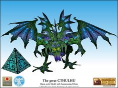 Papercraft Cthulhu from One Monk