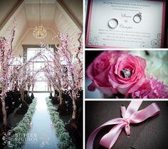 Cherry Blossom Aisle