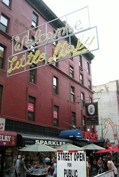 NYC: Little Italy