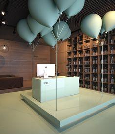 Design concept for shop.( Tender work) by vasiliy butenko, via Behance