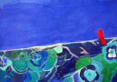 "Saatchi Art Artist Wojtek Herman; Painting, ""drying laundry"" #art"