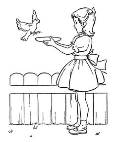educational coloring pages spring