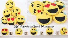 DIY Almofada Emoji do Whatsapp - Muito Fácil