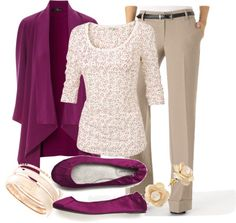 Teacher Outfits on a Teachers Budget polyvore- even though it says teachers, this would be a great professional outfit.