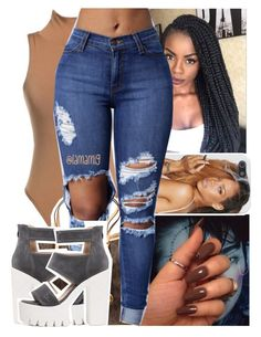 """""""stayed down for a n*gga when i needed you the most✨"""" by lamamig ❤ liked on Polyvore featuring MICHAEL Michael Kors"""