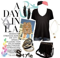"""A Day in L.A."" by maggie-carman on Polyvore"